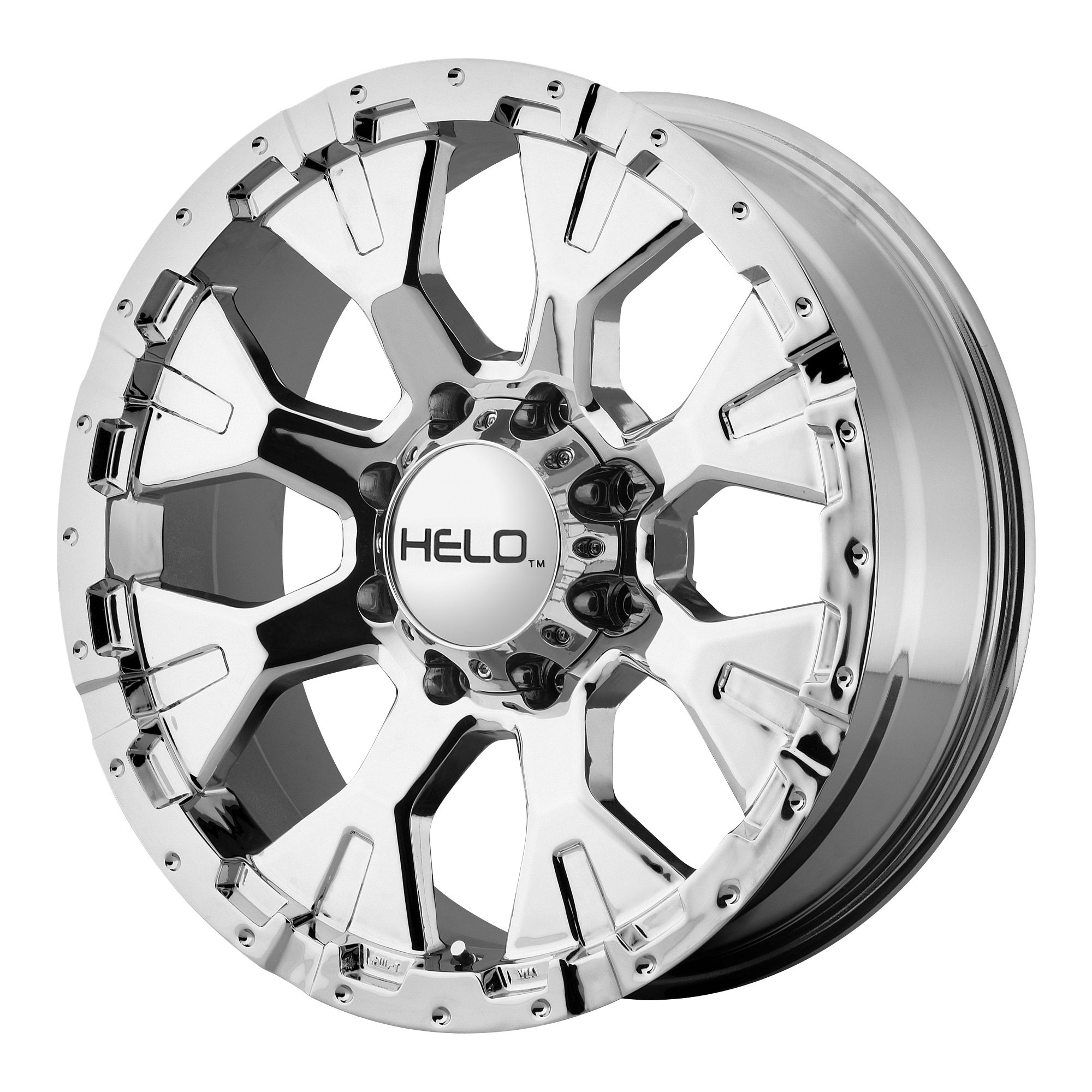 Helo HE878 Triple Chrome Plated Wheel (16x9''/8x165.1mm, -12mm offset)