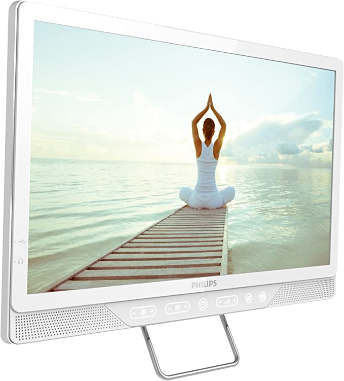 Philips 19hfl4010 W 19 LED HD Ready Commercial TV 1366 x 768 color blanco 2 X HDMI y 1 x USB connectionvesa montaje: 75 x 75 mm - (TV y Audio > comercial televisores): Amazon.es: Electrónica