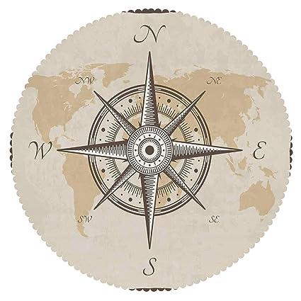Maritime Responsible Vintage Nautical Push Button Compass Maritime Nautical Decor Compass With Cover Fashionable Patterns Maritime Compasses