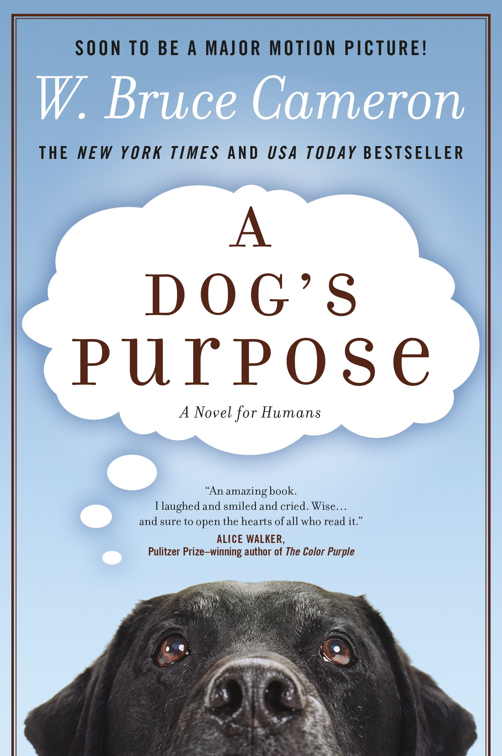 Amazon A Dogs Purpose A Novel for Humans W