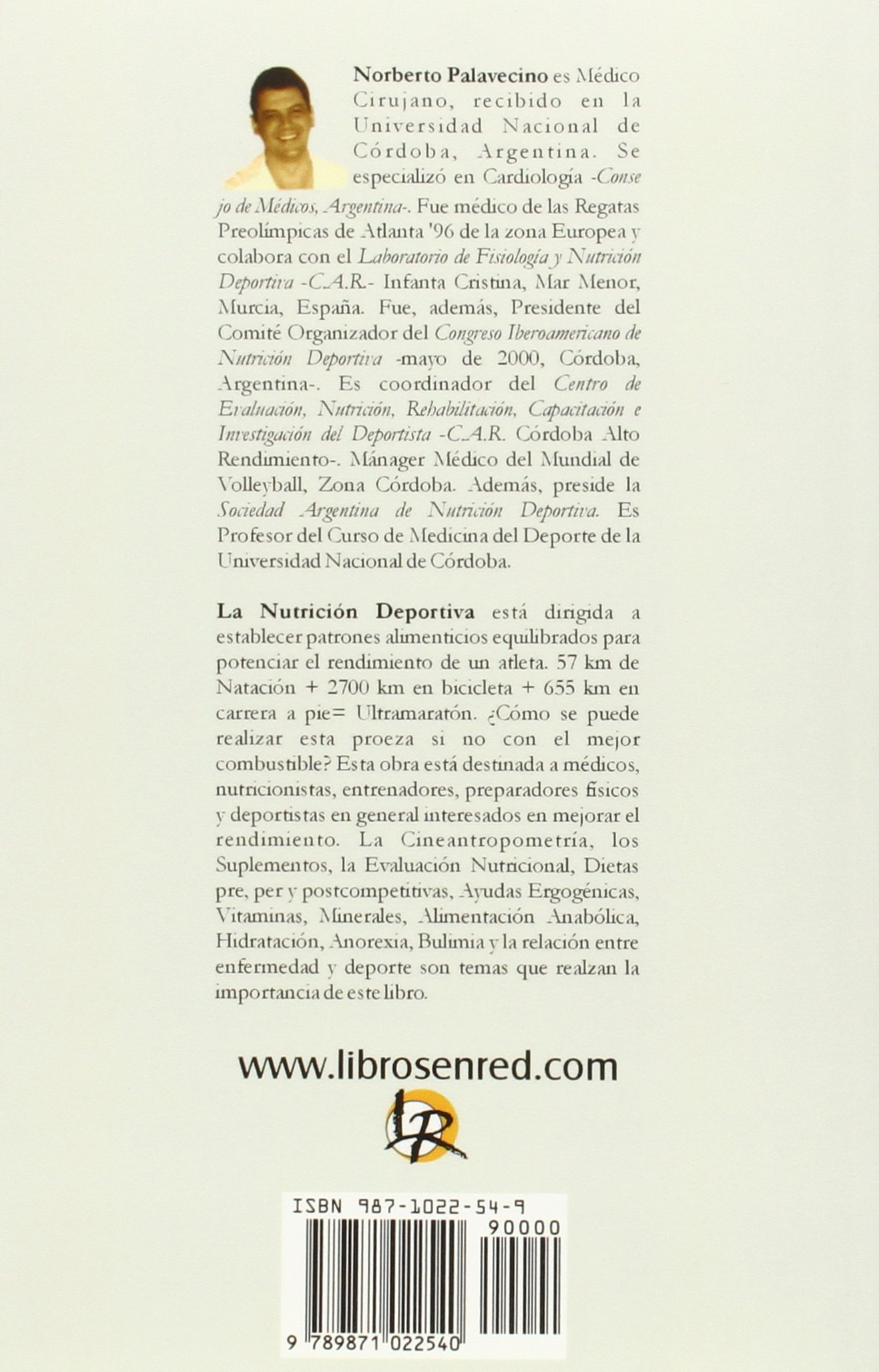Nutricion para el Alto Rendimiento: Norberto Palavecino: 9789871022540: Amazon.com: Books