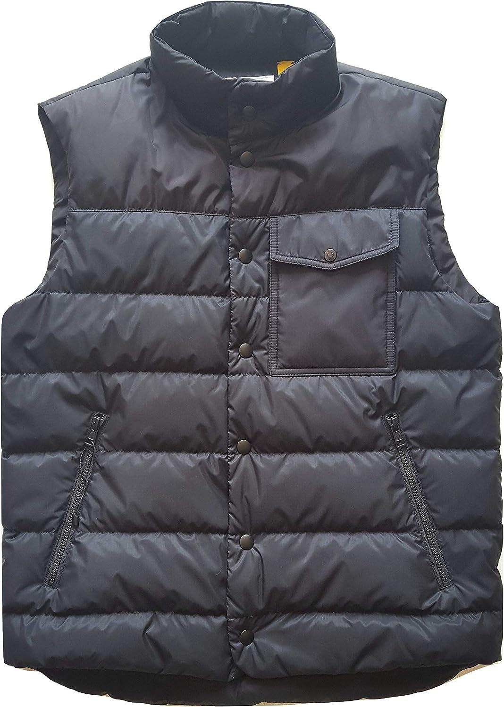 Moncler E1 09U 4134650 53858 - Chaqueta de plumón sin mangas para hombre, color negro, talla 1