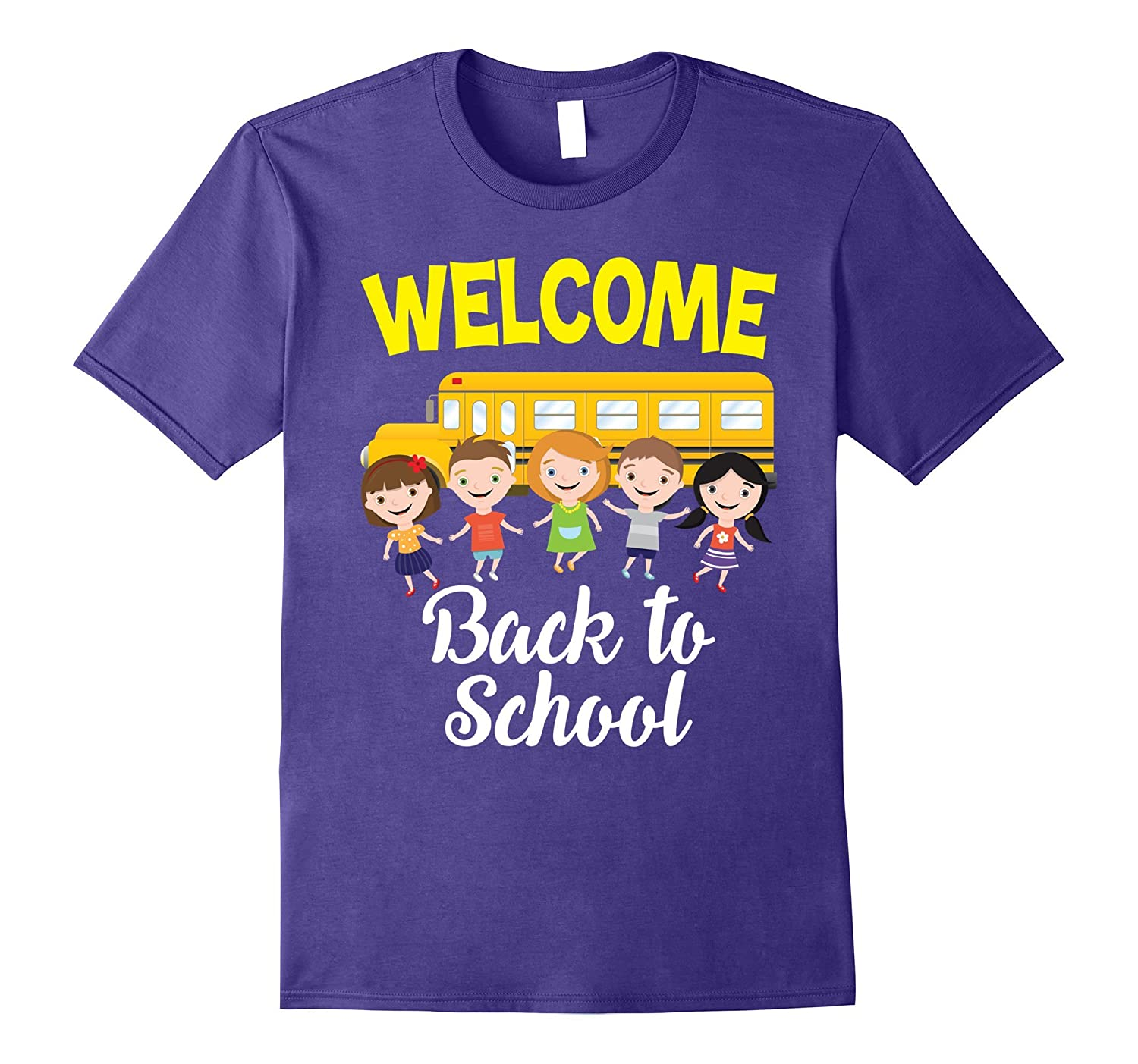 Welcome Back To School Lovely T-Shirt Teachers and Students-TH