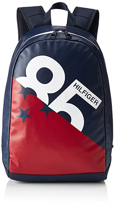 Tommy Hilfiger - Th Varsity Backpack W, Mochilas Hombre, Multicolore (Corporate),