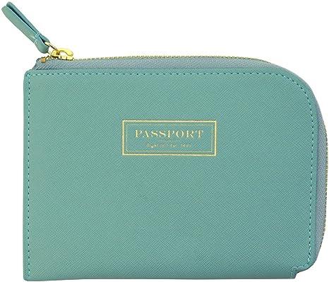4939a358655 FLIGHT001 Correspondent Passport Wallet - Spearmint  Amazon.in  Bags ...