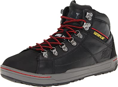 a9402850e092 Caterpillar Men s Brode Hi Steel Toe Work Boot