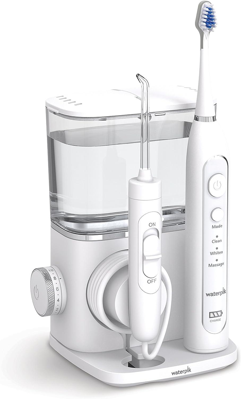 Waterpik Complete Care 9.0 - Cepillo de dientes eléctrico sónico y irrigador bucal