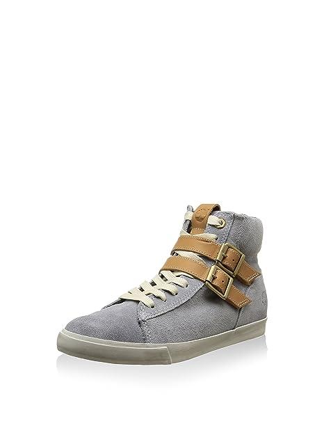 Timberland Zapatillas Abotinadas EK Glstnbry Hitop Gris, Anchura del Zapato: Estrecho: Amazon.es: Zapatos y complementos