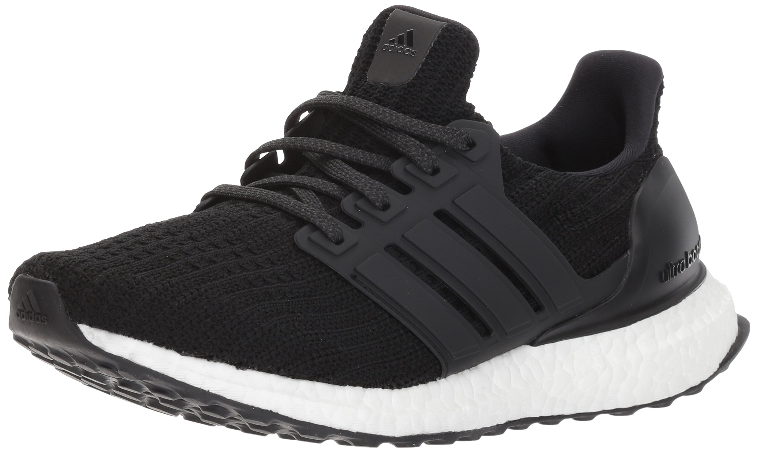 adidas Women's Ultraboost w Road Running Shoe, Core Black/Core Black/Core Black, 8 M US