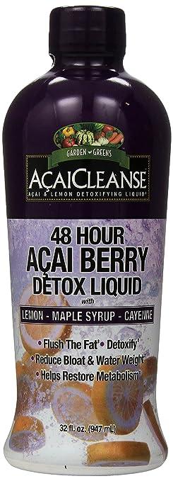 Garden Greens Acaicleanse 48 Hour Acai Berry Detox, 32 Fluid Ounce