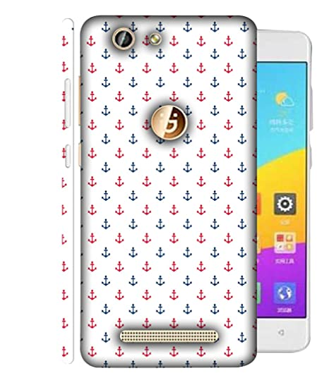 cheaper bac49 8b39d Printvisa Gionee F103 Back Cover Red and Blue Colour: Amazon.in ...