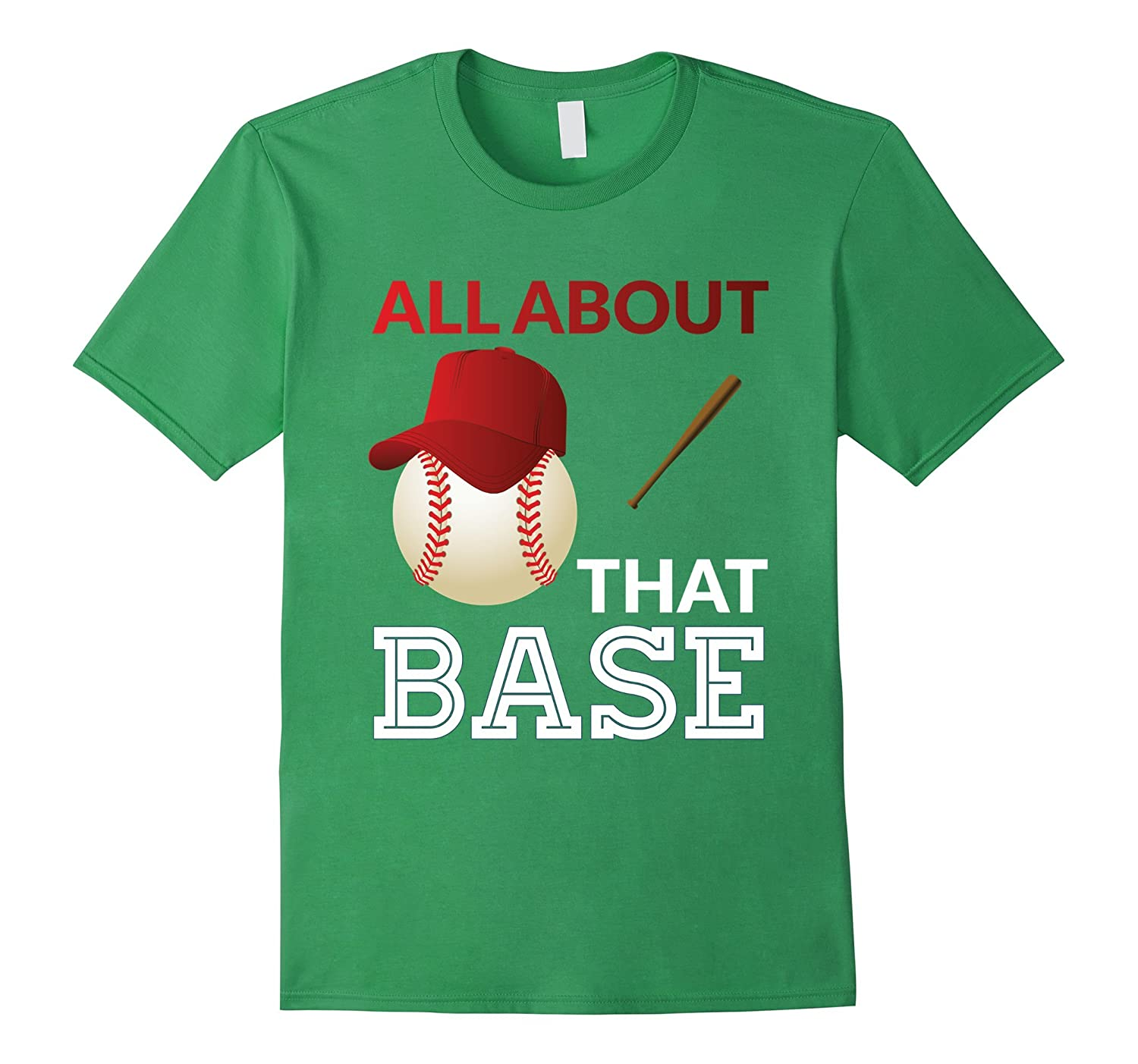 Baseball T-shirt - All about that base-TD