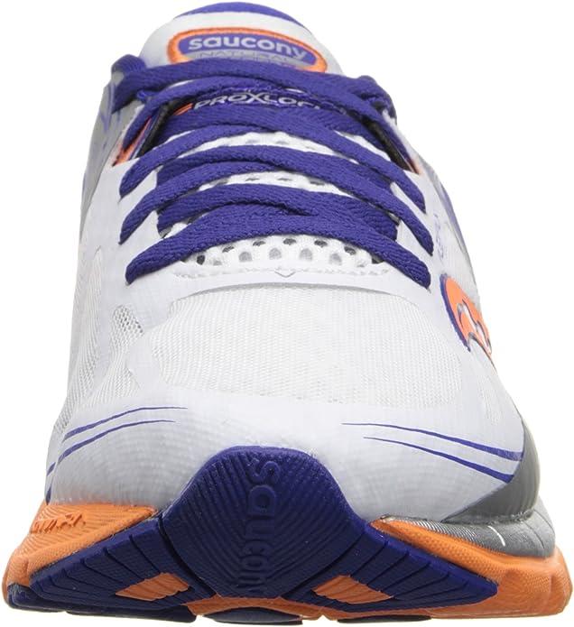 Saucony Women/'s Kinvara 5 Running Shoe 7.5 White//Twilight//Sunset New