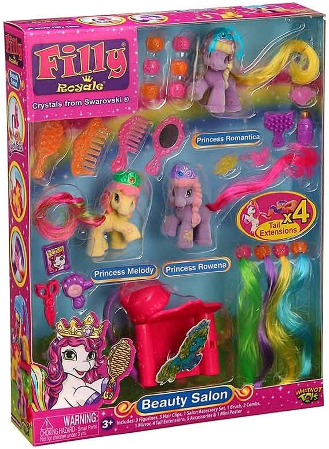 Baby Filly Princess Pack w// Random Miniature Horse 10 Sealed packs