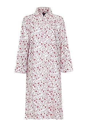 aa601db88b Ladies Blue Sea Wincyette Brushed 100% Cotton Nightie 1546 Pink 24-26   Amazon.co.uk  Clothing
