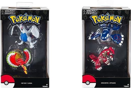 legendäres Pokemon Juego de 2 HO-OH VS Lugia aktionfiguren FIGURAS COLECCIONABLES/FIGURAS EN PACK DOBLE: Amazon.es: Juguetes y juegos