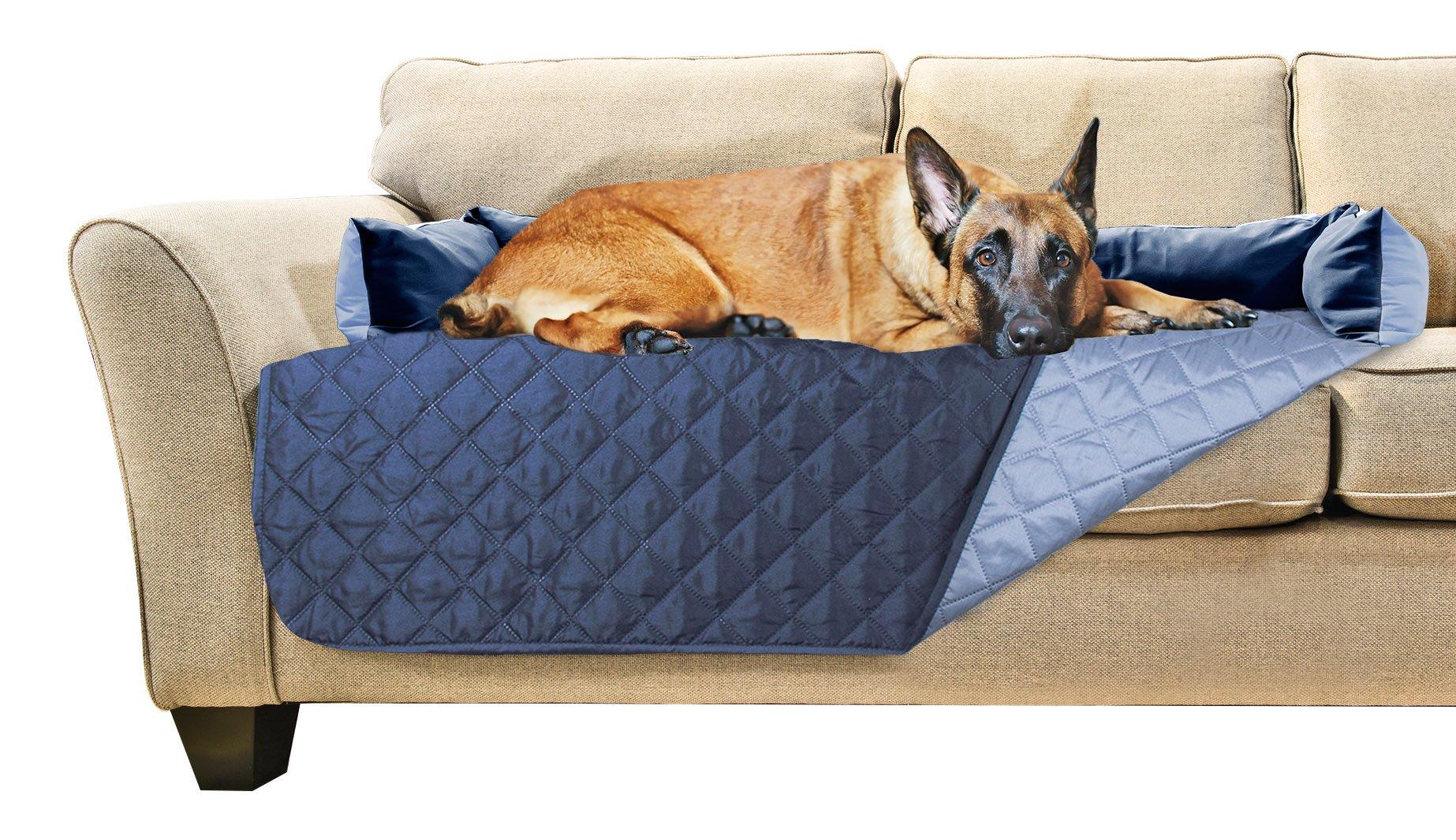 Wondrous Details About Furhaven Pet Furniture Cover Sofa Buddy Reversible Furniture Cover Protector Machost Co Dining Chair Design Ideas Machostcouk