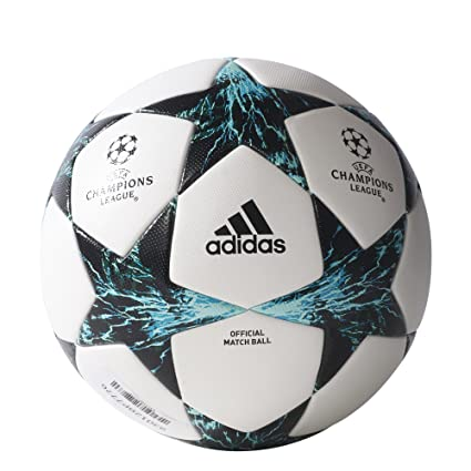 dbf4df0456b08 Amazon.com   Adidas Finale 17 Omb Match Ball 5 White Black   Sports ...