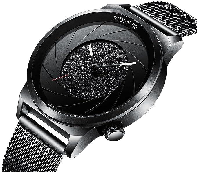 11c0eaacd407 fabulous relojes diseo de moda reloj de pulsera para hombre business  deporte simple dial negro with relojes de diseo