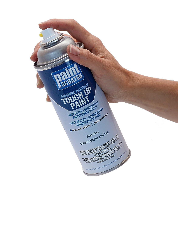 Amazon.com: PAINTSCRATCH Bright White W7/GW7 for 2018 Jeep Compass - Touch Up Paint Spray Can Kit - Original Factory OEM Automotive Paint - Color Match ...