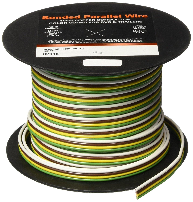 East Penn (02915 100' 16-4 Gauge Parallel Primary Wire