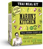 Thai Green Curry Meal Kit by Marion's Kitchen, 5 Pack, Quick, Easy & All Natural Thai Home Cooking