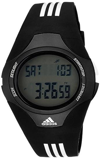 adidas ADP6005 - Reloj digital de cuarzo para hombre con correa de plástico, color negro: Adidas: Amazon.es: Relojes