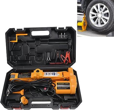 acheter mieux beau look répliques JUEYAN Cric de levage pantographe 12 V Vérin hydraulique à commande  électrique pour voiture particulière 2,5 tonnes Outil de changement de pneu  Mode ...