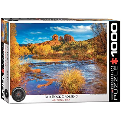 EuroGraphics Red Rock Crossing, AZ 1000-Piece Puzzle: Toys & Games