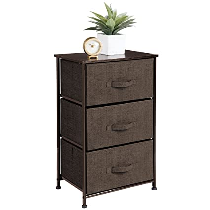 Amazoncom Interdesign 05247 Aldo Fabric 3 Drawer Dresser And