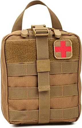 Orca Tactical MOLLE Rip Away EMT First Aid IFAK Pouch Medical Empty Bag