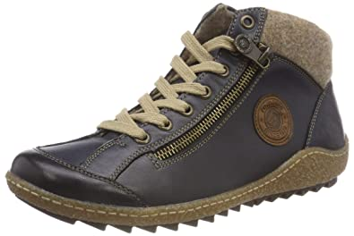 1fa55850e5b80 Remonte Women's R4775 Ankle Boots, Blue (Pazifik/Chestnut/Wood 14),