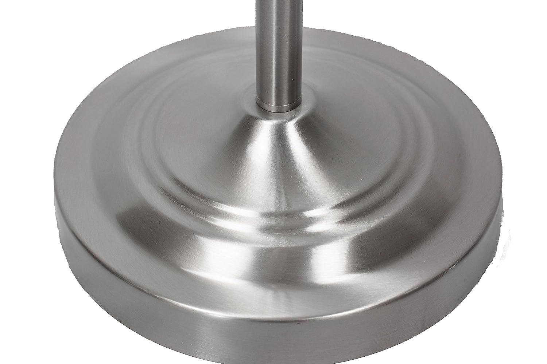 Simpla Daylight 24 402051-15 Cordless Floor Lamp Brushed Nickel