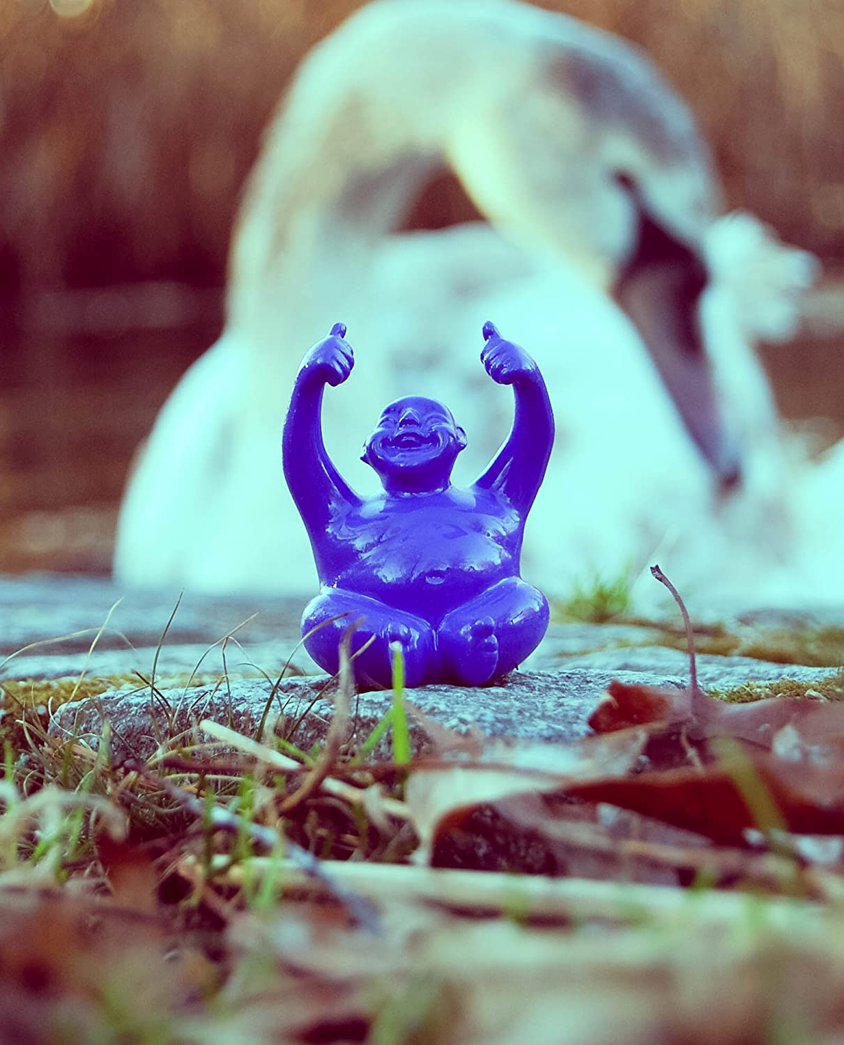 Powerful The Suburban Monk Little Syd Mini Happy Laughing Buddha Statue Figurine Peaceful Valentines Gift for Yoga and Meditation Enthusiasts Peaceful Valentine/'s Gift for Yoga and Meditation Enthusiasts