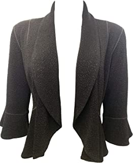 product image for Eva Varro Round Peplum Unlined Jacket XS-3X