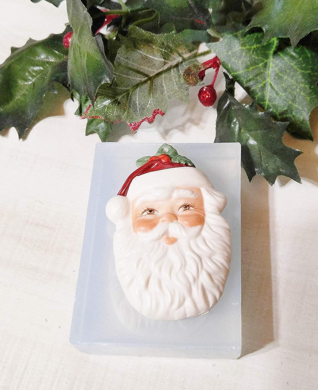 Silicone Mold for Santa Face