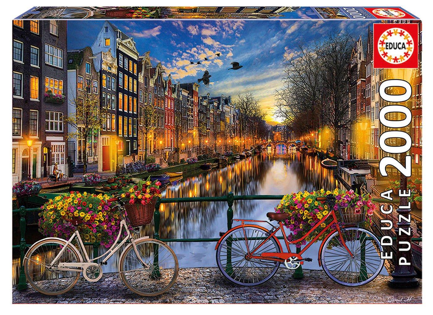 Educa Borrá s - 17127.0 - Puzzle -  Amsterdam - 2000  Piè ces