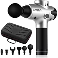 Zanbo Athletes Portable Deep Tissue Percussion Muscle Massager Gun