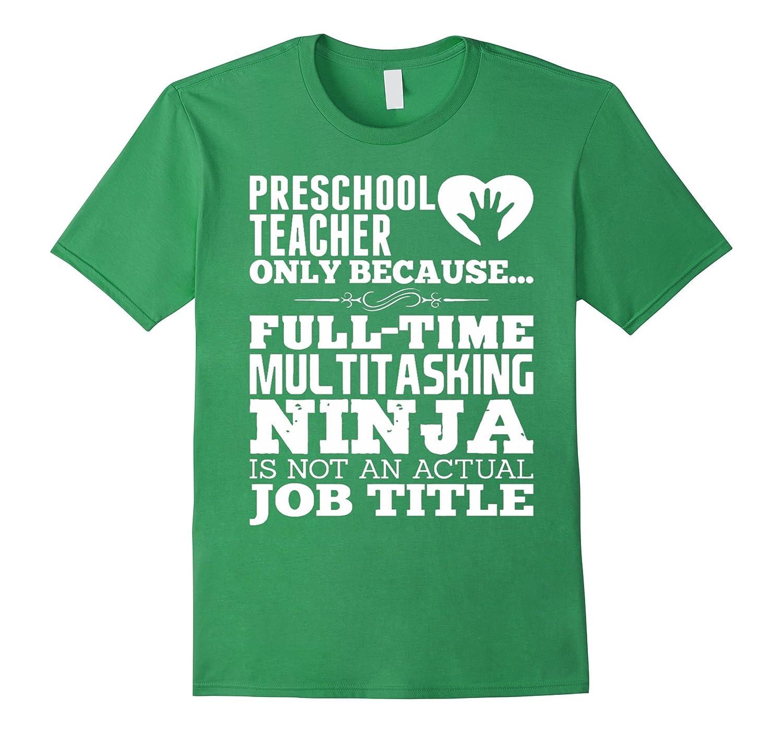 3ce3dab3 Teacher shirt Teachers gift PRESCHOOL TEACHER T-shirt-RT – Rateeshirt