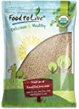 Organic Royal White Quinoa by Food To Live (Raw, Whole Grain, Non-GMO, Kosher, Bulk) — 5 Pounds