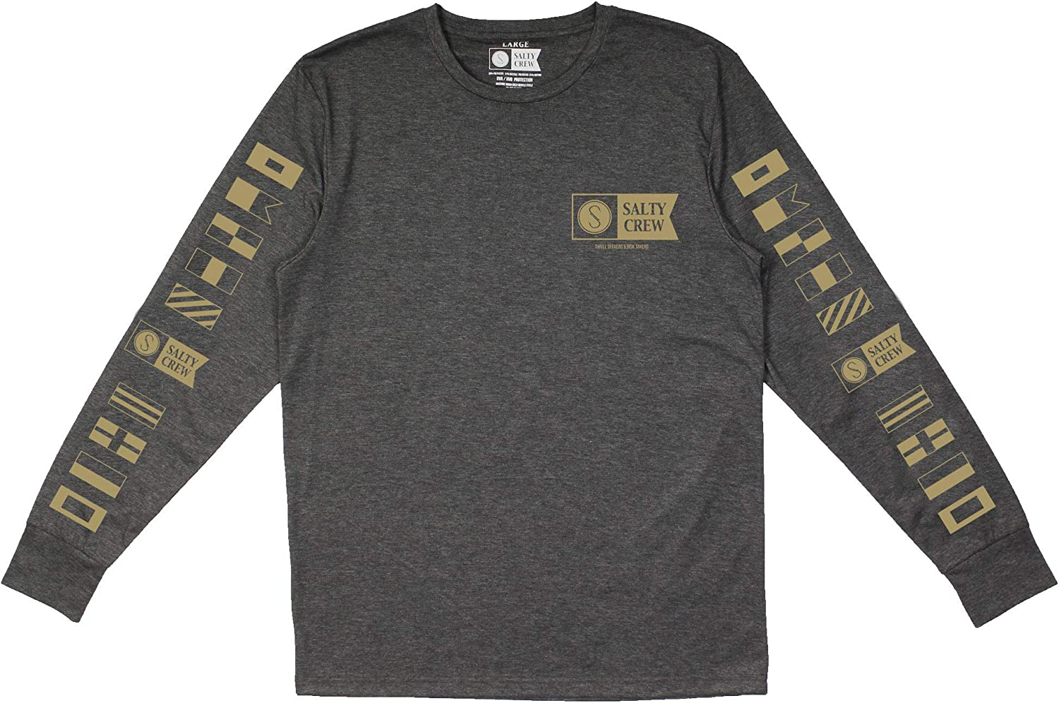 Salty Crew Mens Alpha Tech LS Tee
