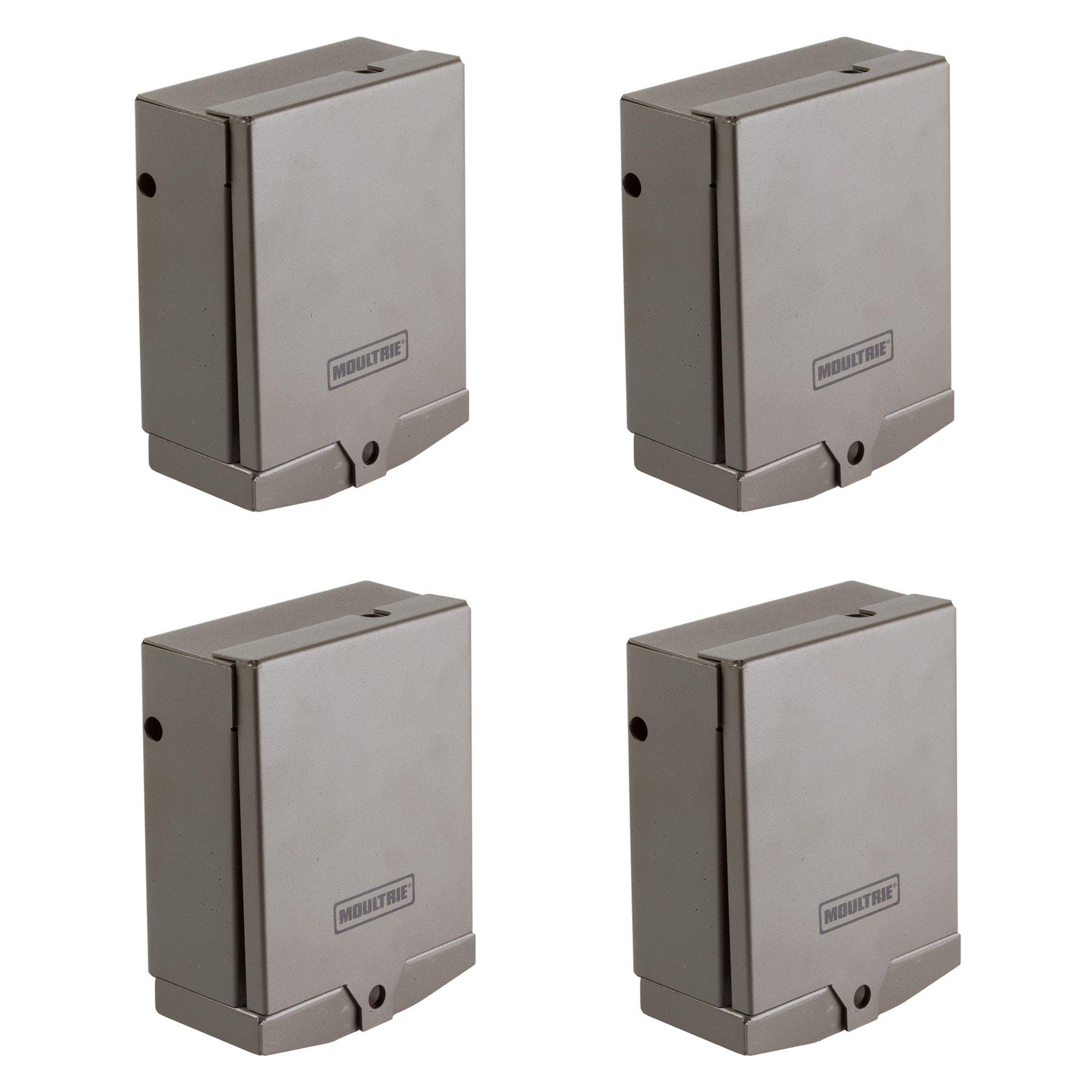 Moultrie Mobile 16-Gauge Steel MV1 Field Modem Security Box, 4 Pack   MCA-13186