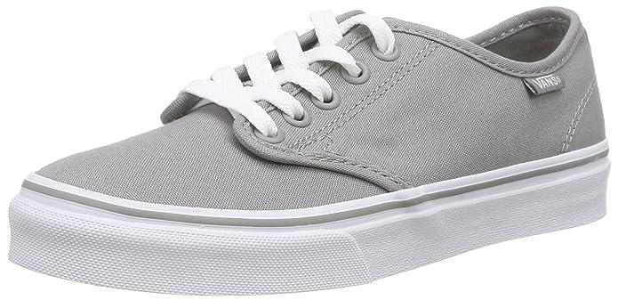 Vans Damen Camden Stripe Classic Sneaker Grau (Canvas)