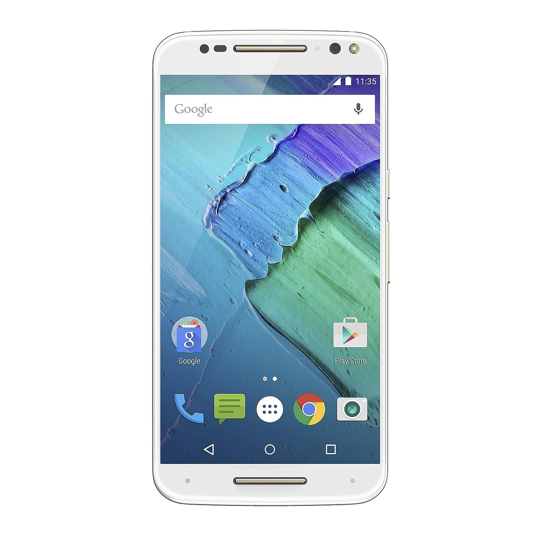 Moto X Pure Edition Unlocked Smartphone, 32GB White (U.S. Warranty - XT1575)