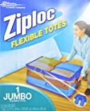 Ziploc Flexible Totes, XXL Qty: 1 (Pack of 2)