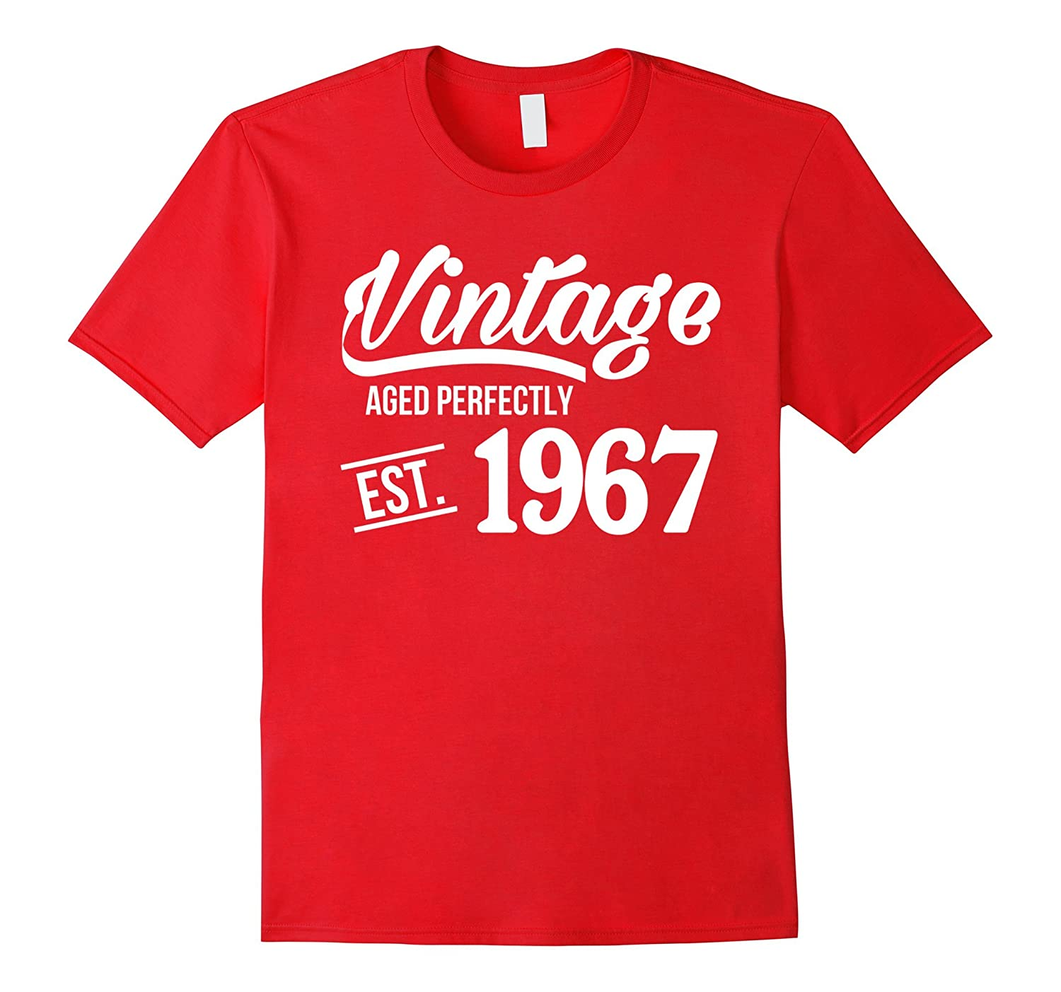 Vintage 1967 Shirt Funny 50 Years Old 50th Birthday Gift ANZ