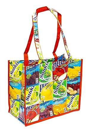 einkaufs funda/bolsa plástico - Zumo Pack reciclado ...