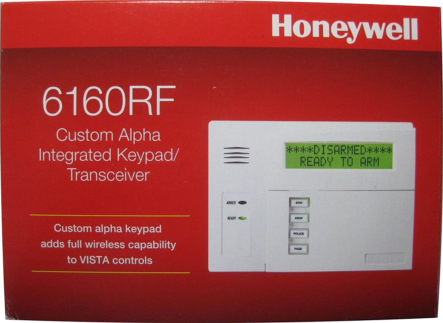 Honeywell 6160RF Custom Alpha Integrated Keyboard/Transceiver