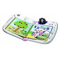LeapFrog - LeapStart 3D with 2 Bonus Books Bundle - Electronic Educational Reading System, 3D animations - Pink - 603989