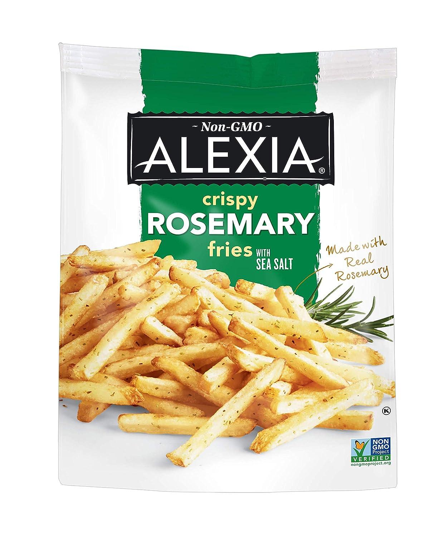 Alexia Crispy Rosemary Fries with Sea Salt, Non-GMO Ingredients, 16 oz (Frozen)